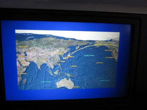 航路を図で見ると「ようけ飛んだなあ」と手応えを感じて嬉しい
