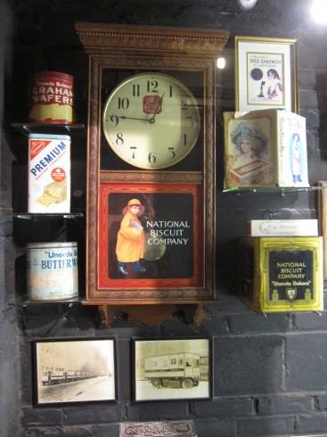 チェルシーマーケットに展示されていたアンティーク