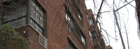 NY、最初に暮らしたチェルシーの家です