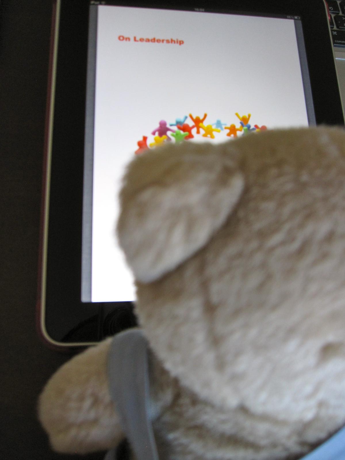 iPad×ハロちゃん