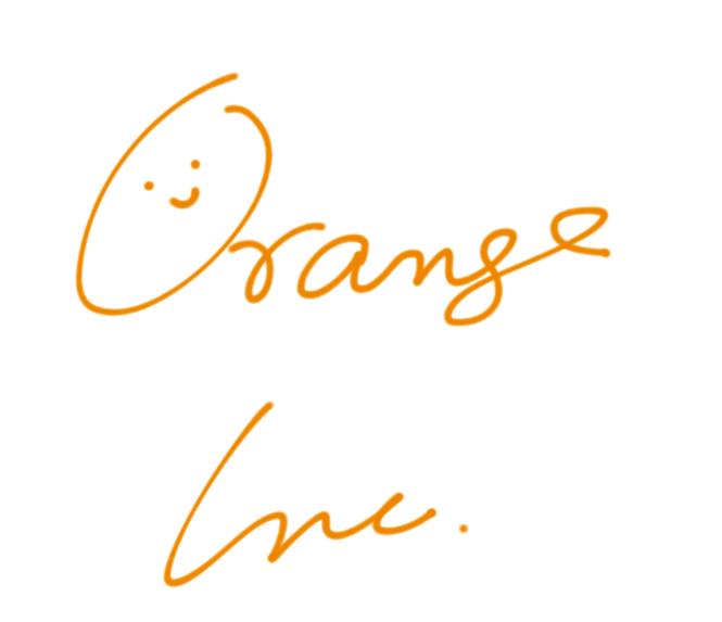 Orange Inc.ロゴです