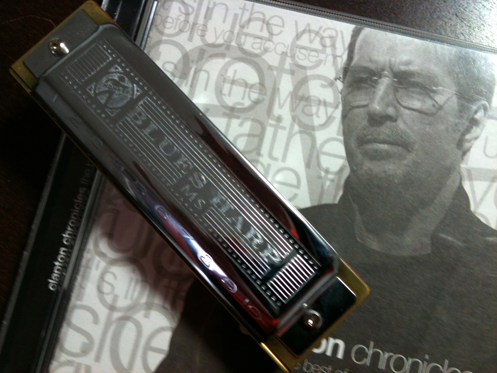 my blues harp and clapton chronicles
