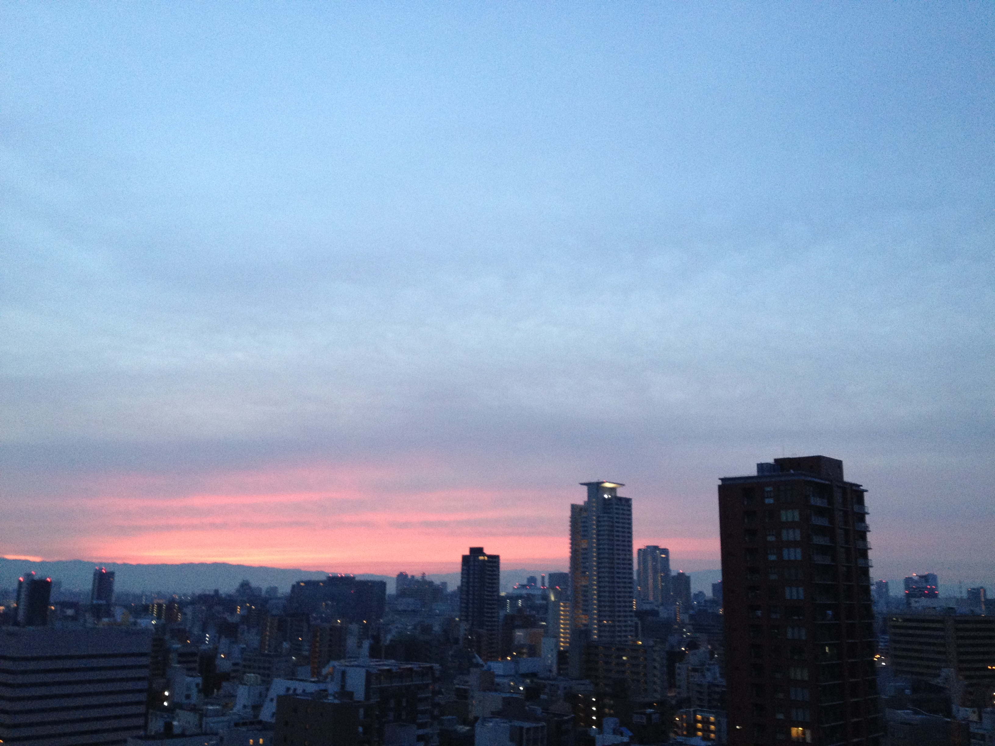 Sunrise on Nov.27