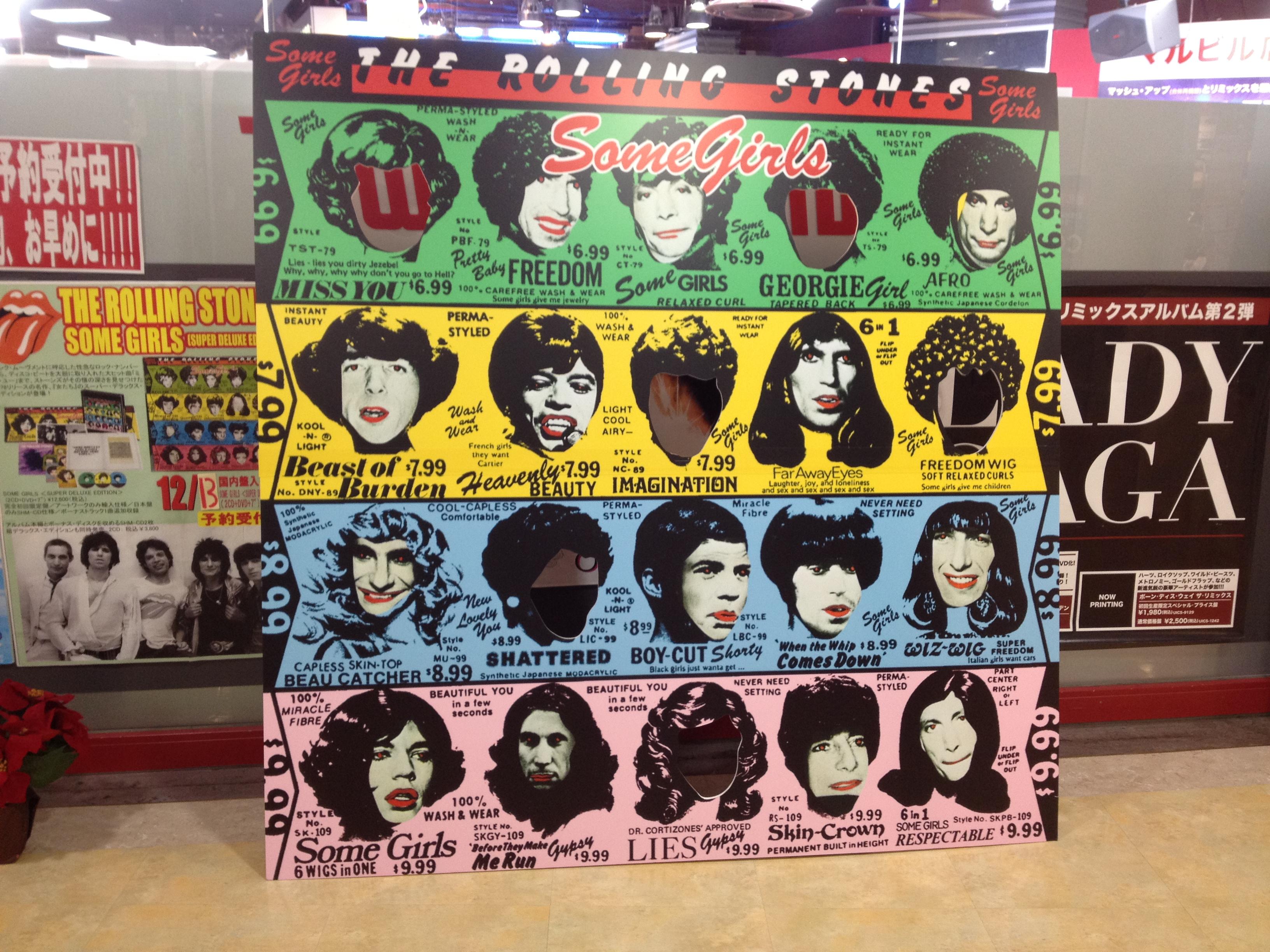 初版LPレコードでは実際の顔を肖像権無視して無断で使い、大騒ぎになった(笑)