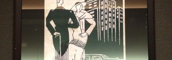 前身の新大阪ホテル(1935-1965)時代のポスター