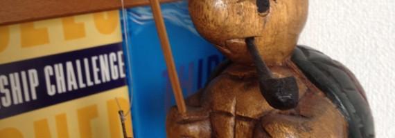 JOYWOW大阪で最も「やさぐれ」な亀君。タイから来ました