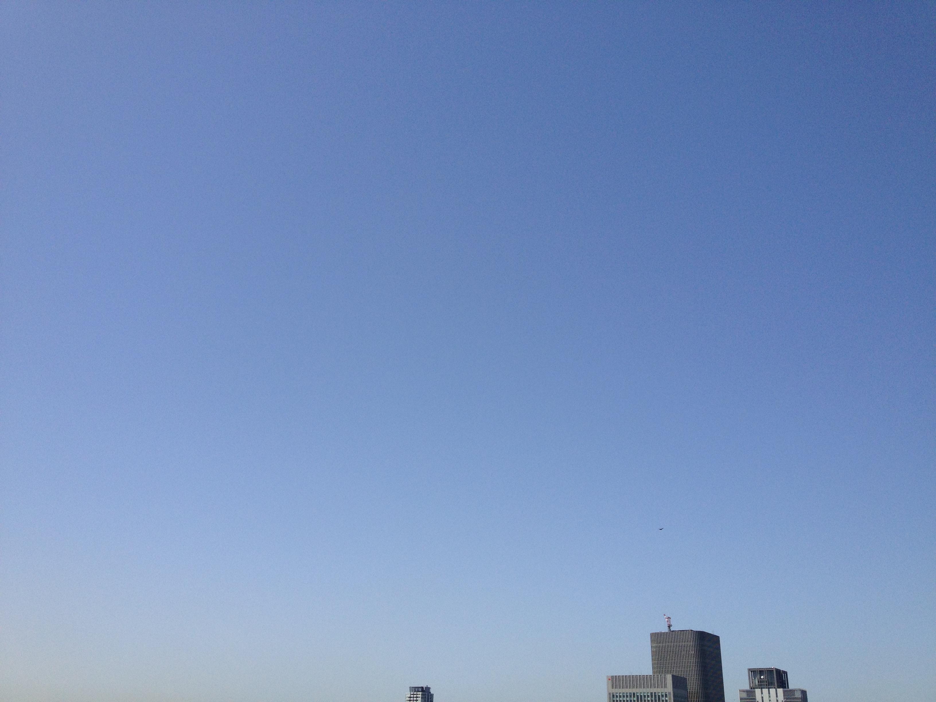 いまの大阪の空
