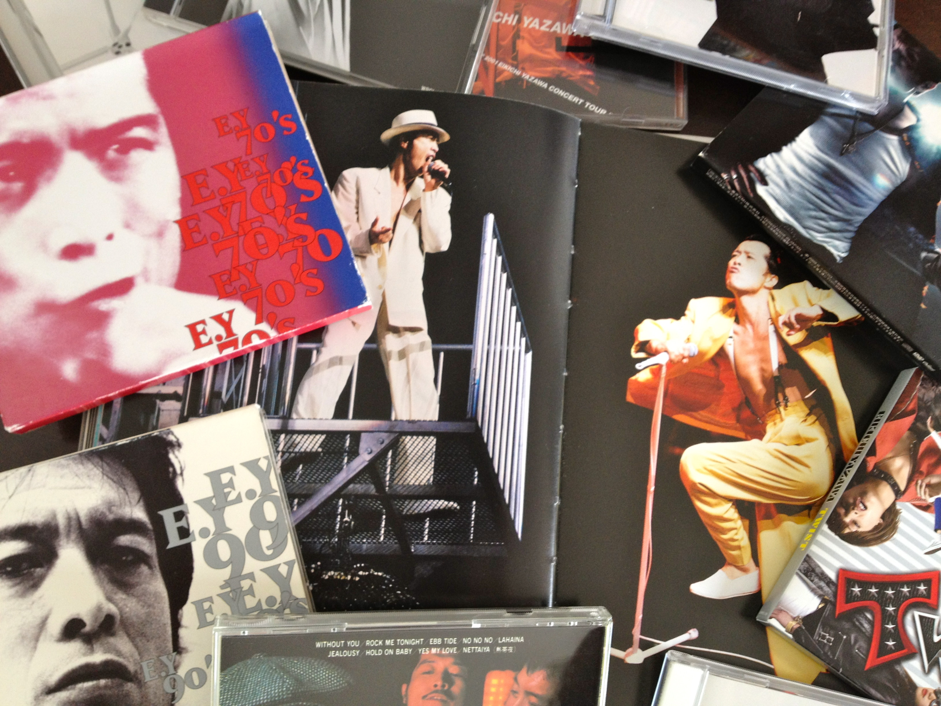 my YAZAWA collections ( of course, just a little part !!!)