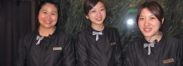 台北のホテルスタッフ。100%ゲストの立場で接客してくれた。素晴らしい!