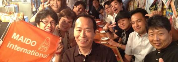 2期懇親会の記念写真!