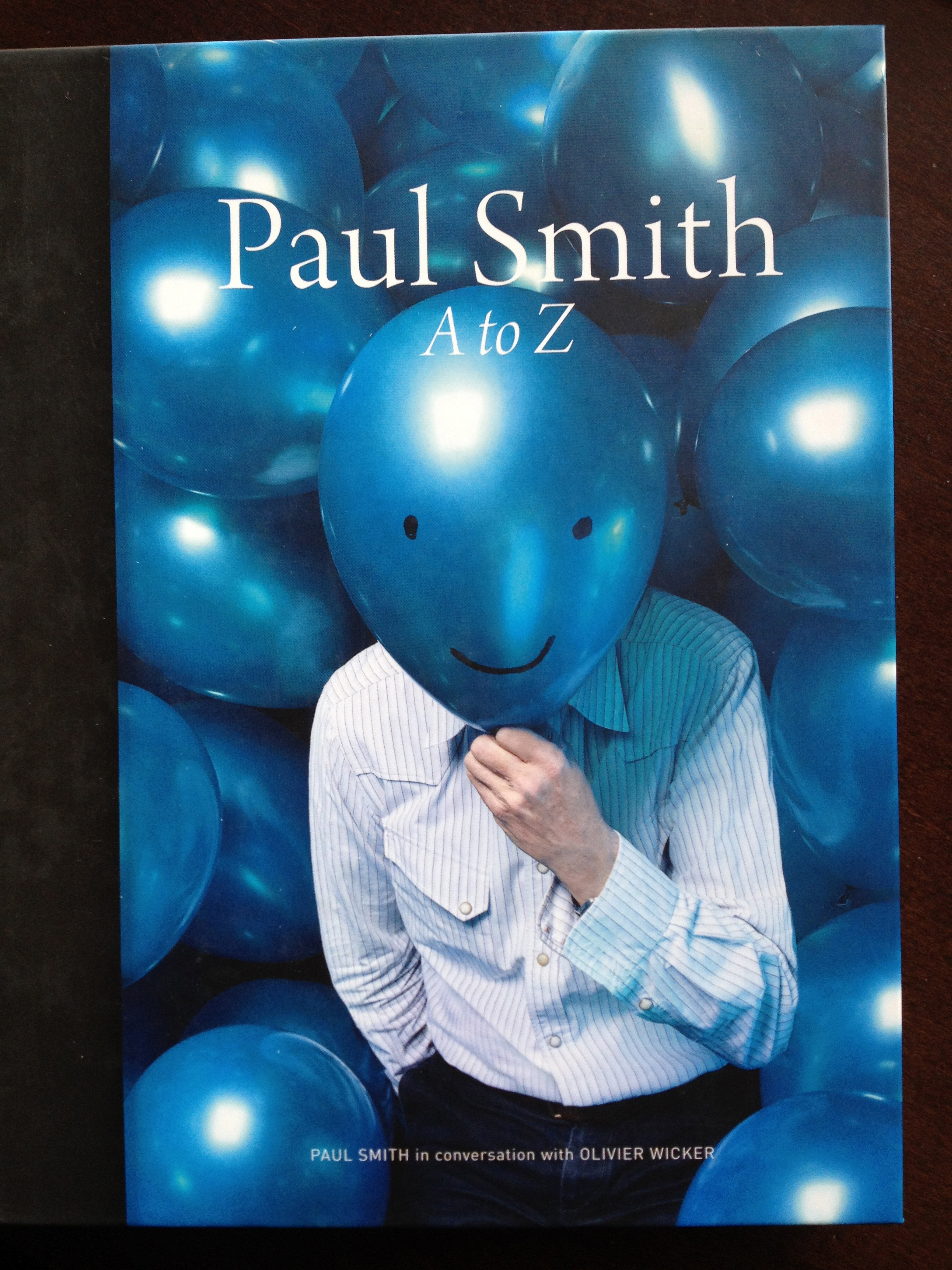 "my Bible, ""Paul Smith A to Z"""