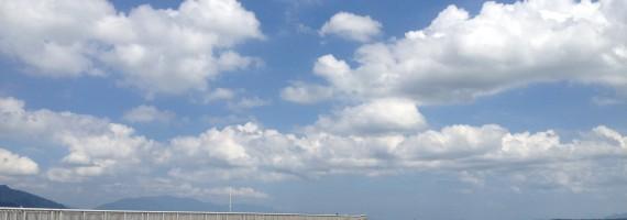 琵琶湖の風を感じながら
