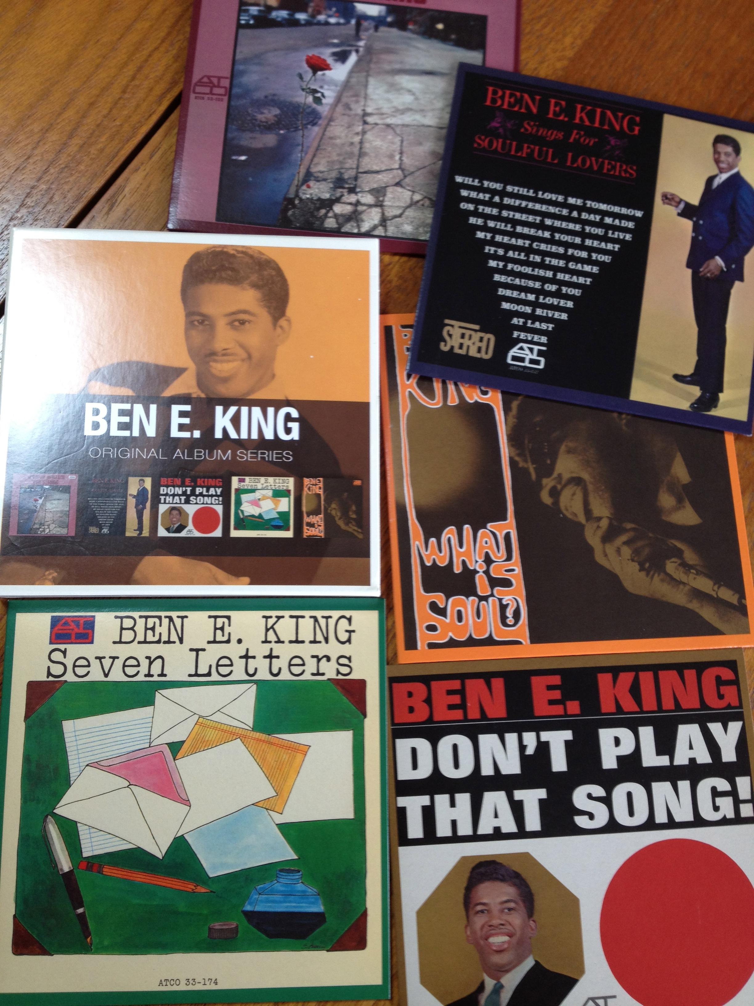 歌がそのまま歌だった良き時代。Ben E. King