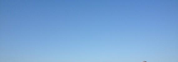 初の企画に、今の気分はこの葉山の空みたいに、爽やか!