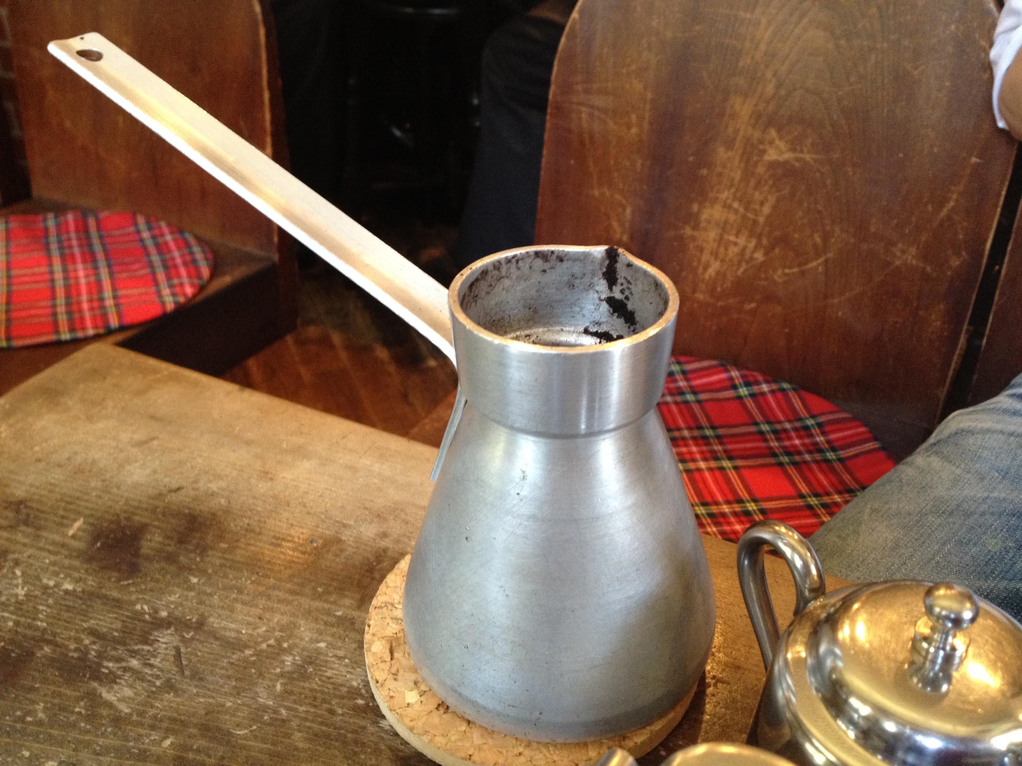 ちなみにこれはトルココーヒーを淹れるための道具です