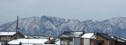 今朝の新潟(撮影/小林理恵子さん)