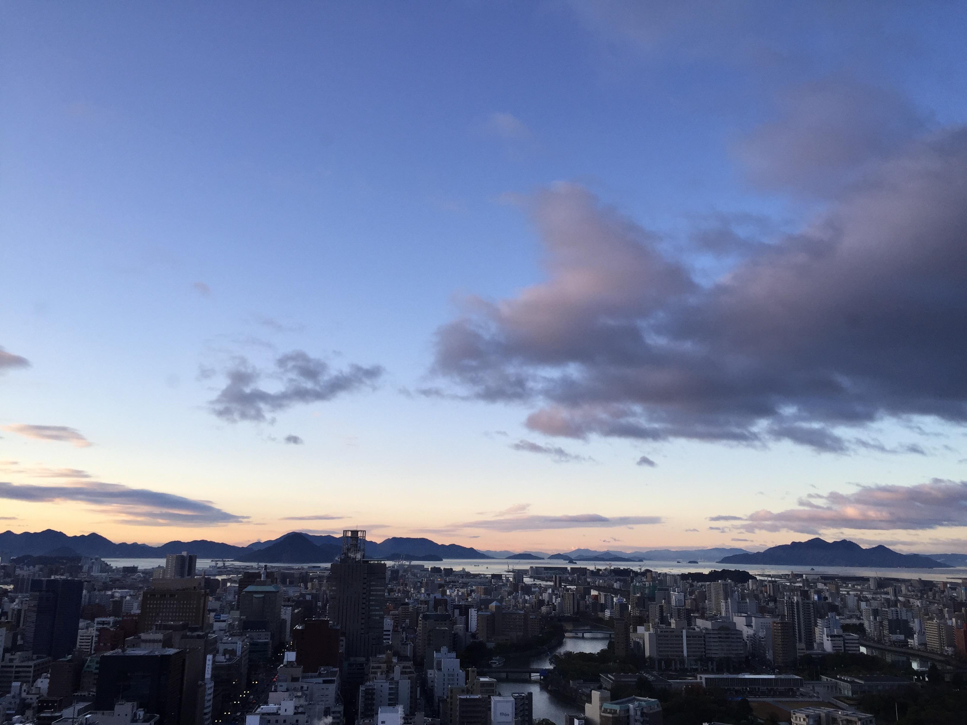 広島にて。宇品、宮島を見た。空中浮遊したかった