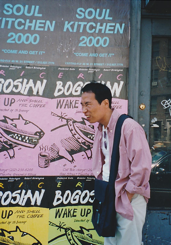 起業したばかりの頃(2000年、NYにて)