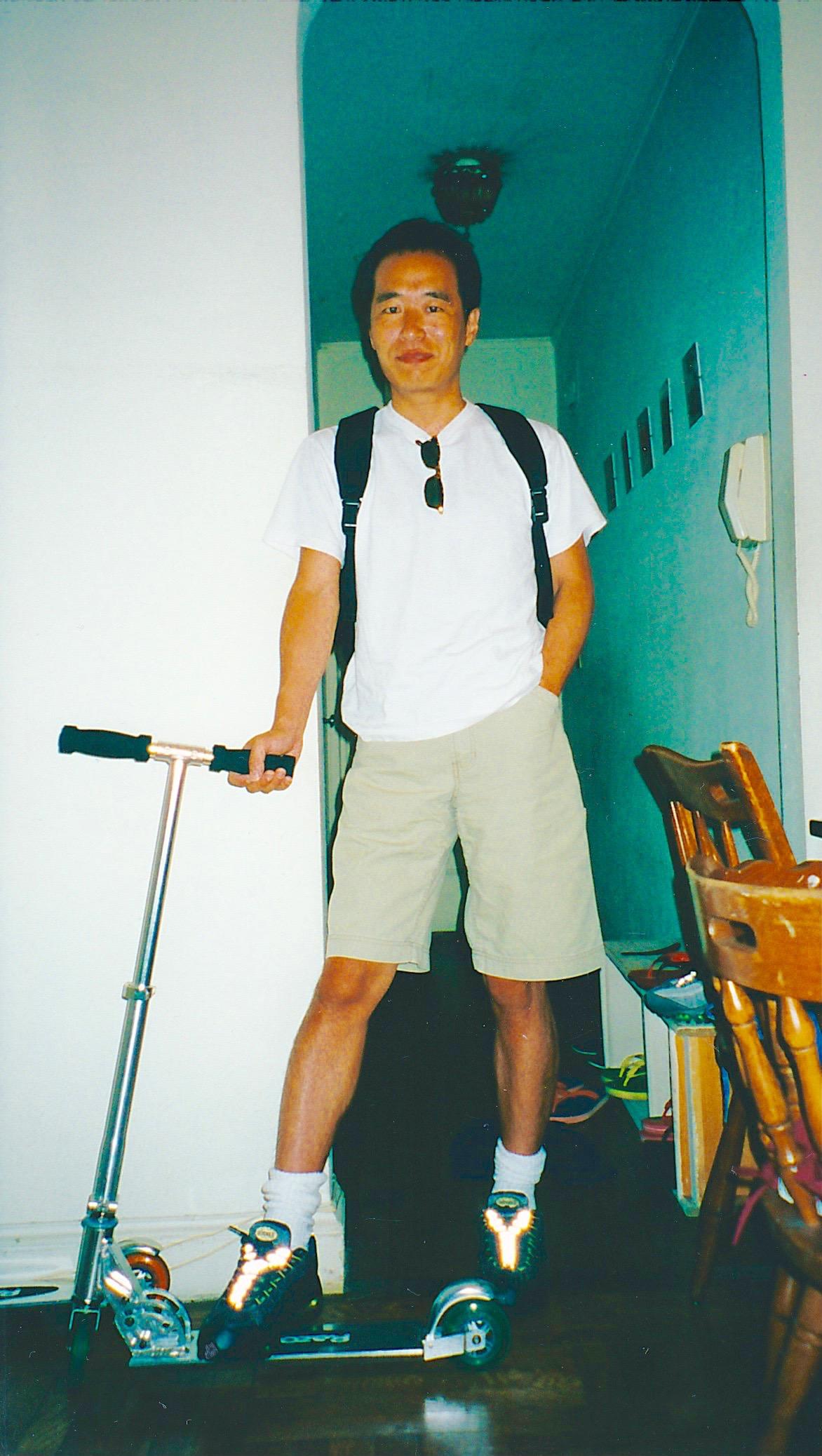 NYにて 2000年4月頃