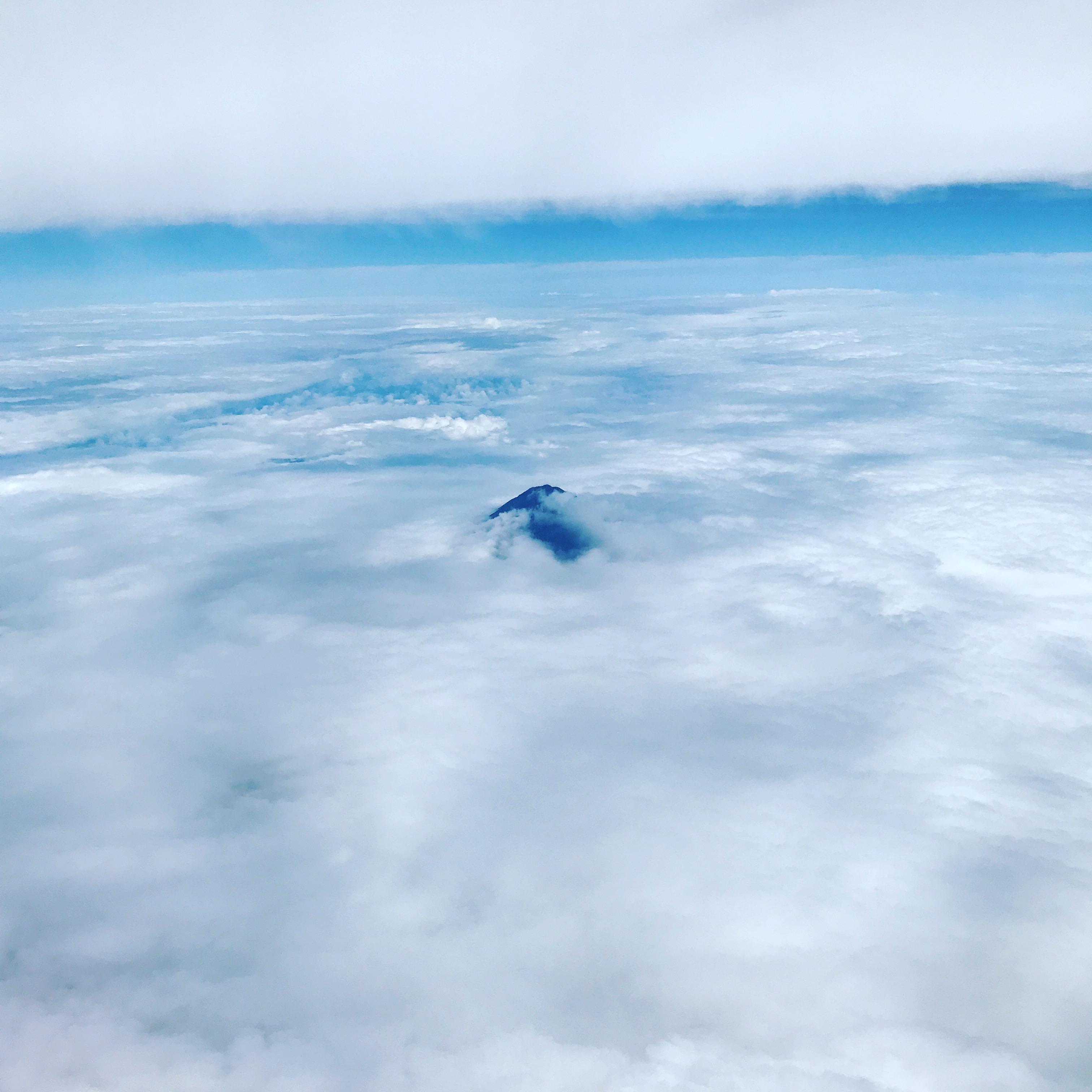 富士山頂! ハゲてます(笑)